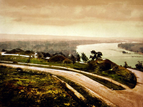 Indian Mounds Park and the Mississippi River, St. Paul Minnesota, 1898