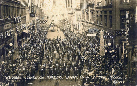 American Legion National Convention, St. Paul Minnesota, 1924