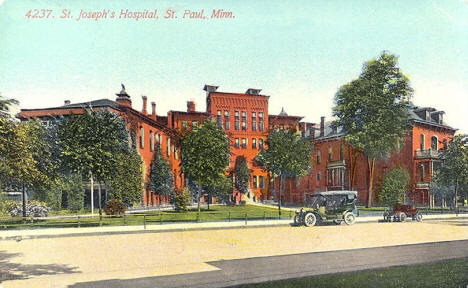 St. Joseph's Hospital, St. Paul Minnesota, 1911