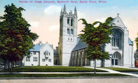 House of Hope Church, Summit Avenue, St. Paul Minnesota, 1916