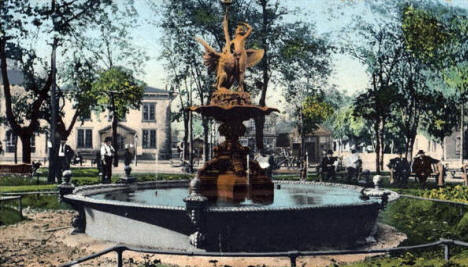 Rice Park, St. Paul Minnesota, 1905