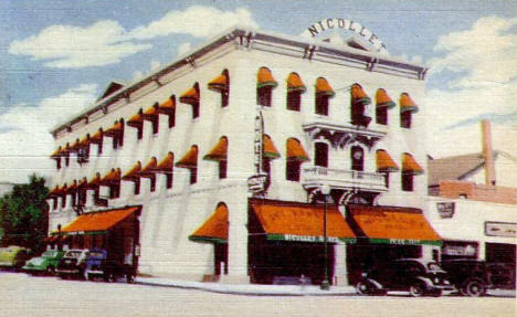 Nicollet Hotel St Peter Minnesota 1940 S