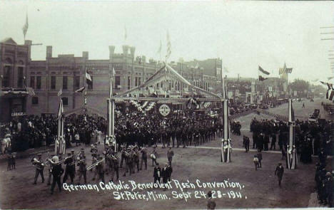 German Catholic Benevolent Association Convention, St. Peter Minnesota, 1911