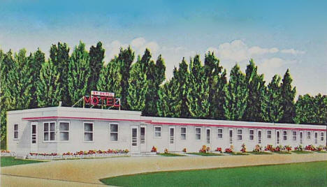 St. Peter Motel, St. Peter Minnesota, 1954