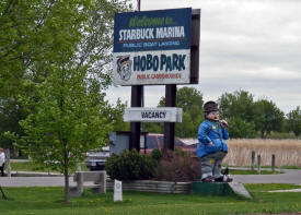 Hobo Park Campground, Starbuck Minnesota