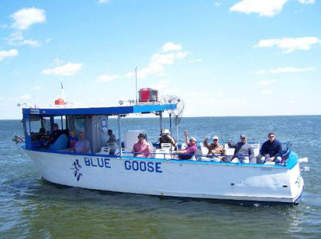 Blue Goose Launch on Lake Mille Lacs, 2006