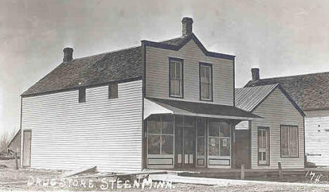 Drug Store, Steen Minnesota, 1910's