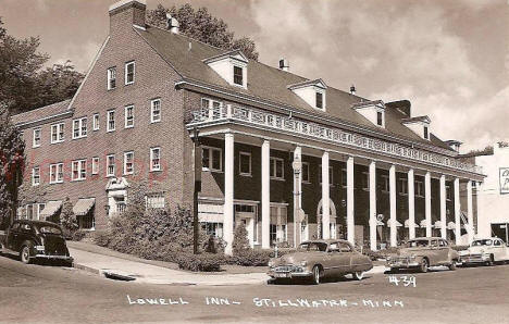 Lowell Inn, Stillwater Minnesota, 1950's