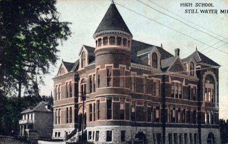 High School, Stillwater Minnesota, 1908