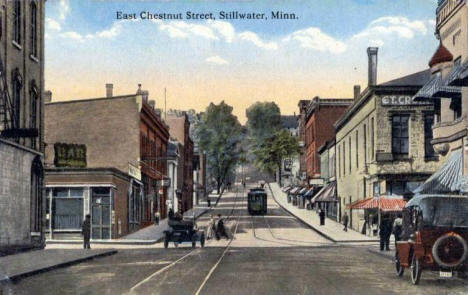 East Chestnut Street, Stillwater Minnesota, 1910's