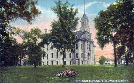 Lincoln School, Stillwater Minnesota, 1910's