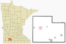 Location of Storden, Minnesota