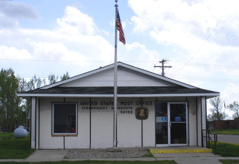 Post Office, Strandquist Minnesota, 2008