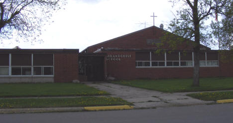 Strandquist School, Strandquist Minnesota, 2008