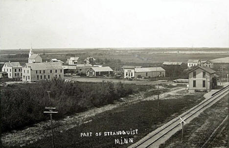 General view, Strandquist Minnesota, 1900's