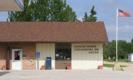 US Post Office, Strathcona, Minnesota