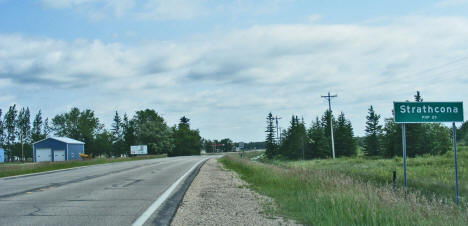 Entering Strathcona Minnesota, 2009