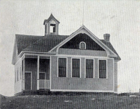 New School, Sunburg Minnesota, 1910's