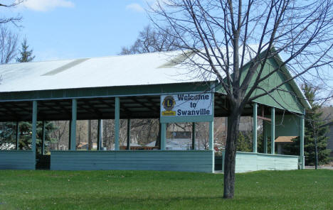 City Park and Shelter, Swanville Minnesota, 2009