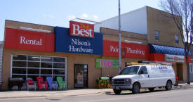 Nilson's Hardware & Rent-It, Swanville Minnesota