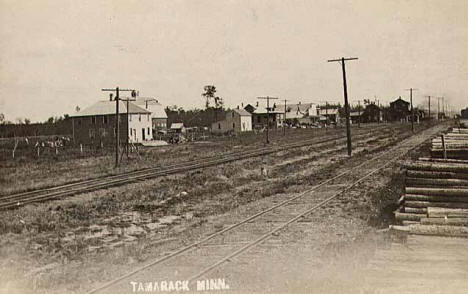 General view of Tamarack Minnesota, 1905