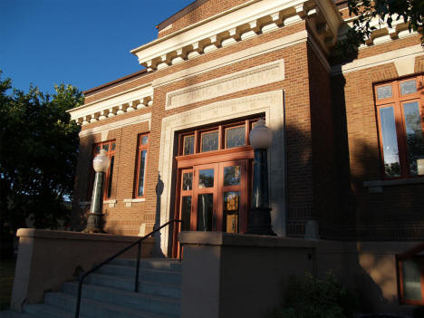 Old Carnegie Library, Thief River Falls Minnesota, 2006