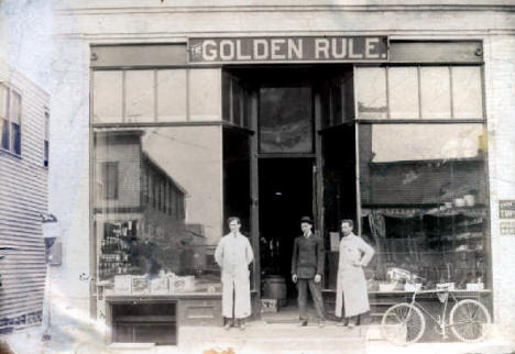 Golden Rule Store, Thief River Falls Minnesota, 1906