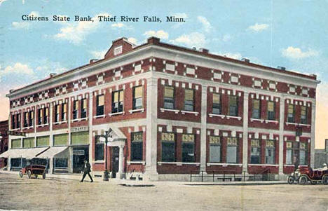 Citizens State Bank, Thief River Falls Minnesota, 1939