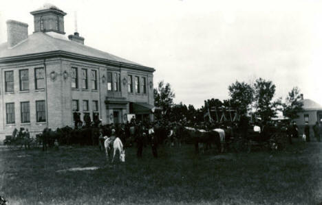 Final Government Land Sale, Thief River Falls Minnesota, 1904