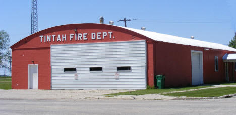 Tintah Fire Department, Tintah Minnesota, 2008