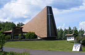 Zoar Lutheran Church, Tofte Minnesota