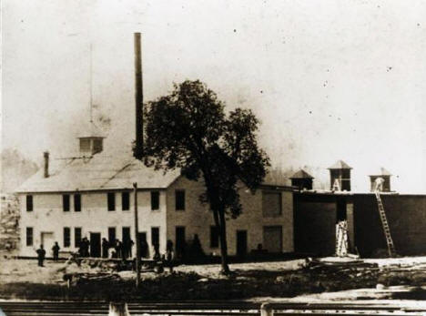 Tower Brewery, on the site of the present day Iron Ore Bar in Tower,1890