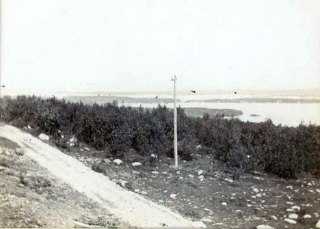 Lake Vermilion from Iron Mine Hill, Tower Minnesota, 1898