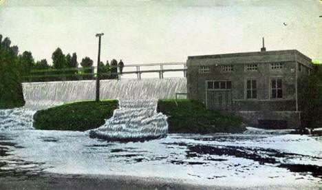 Hydro-electric Power Plant on Pike River, Tower Minnesota, 1910