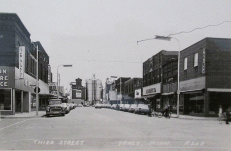 Third Street, Tracy Minnesota, 1960's