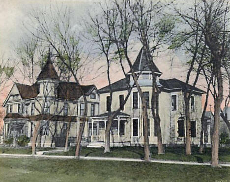 Residences, Tracy Minnesota, 1907