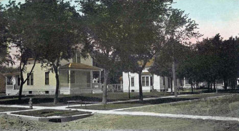 Residences on Sixth Street, Tracy Minnesota, 1909
