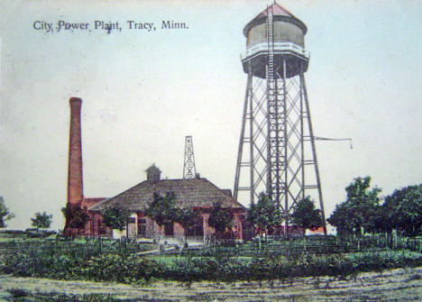 City Power Plant, Tracy Minnesota, 1908