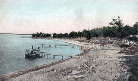 Haddocks Point, Lake Shetek, Tracy Minnesota, 1909