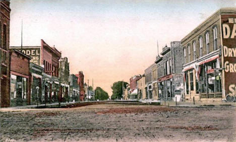 Third Street, Tracy Minnesota, 1908