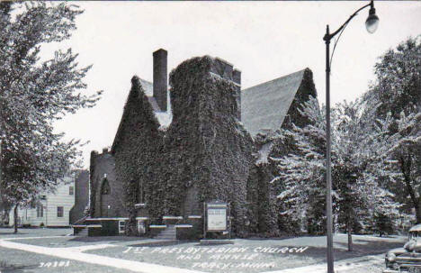 First Presbyterian Church, Tracy Minnesota, 1950's