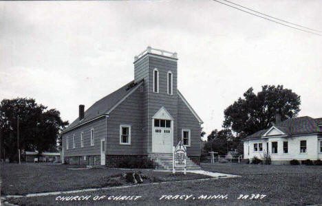 Church of Christ, Tracy Minnesota, 1950's