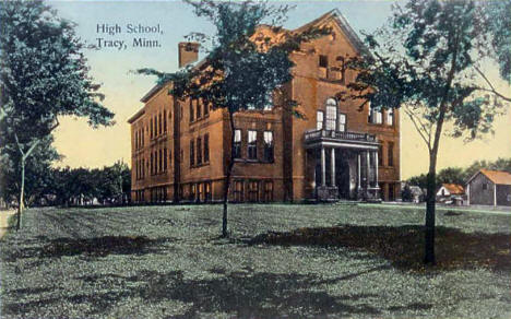High School, Tracy Minnesota, 1908