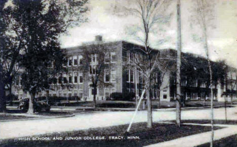 High School and Junior College, Tracy Minnesota, 1940's