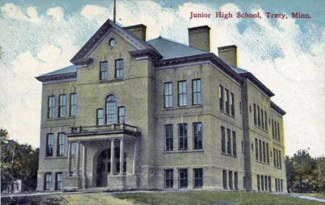 Junior High School, Tracy Minnesota, 1917