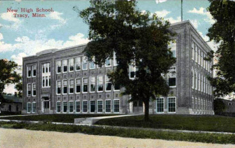 New High School, Tracy Minnesota, 1916