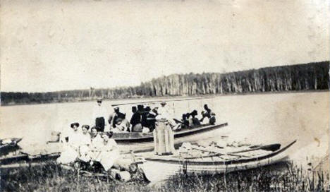 Point Comfort Resort, Turtle River Minnesota, 1912