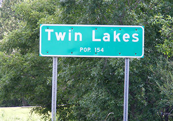 Welcome to Twin Lakes Minnesota!