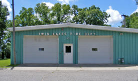 Twin Lakes Fire Department, Twin Lake Minnesota