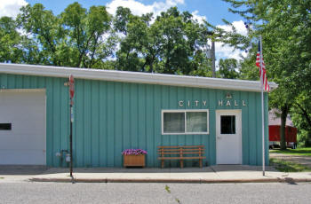 Twin Lakes City Hall, Twin Lakes Minnesota
